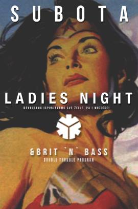 LADIES NIGHT + WELCOME TO THE JUNGLE 10.06.