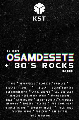 OSAMDESETE + 80s ROCKS 19.05.