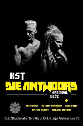I FINK U FREEKY – DIE ANTWOORD SPECIJAL 04.07.